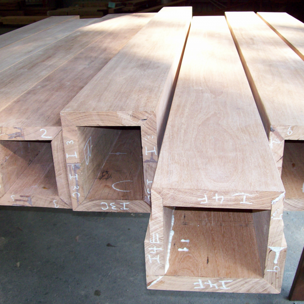 Blackbutt beam boxes