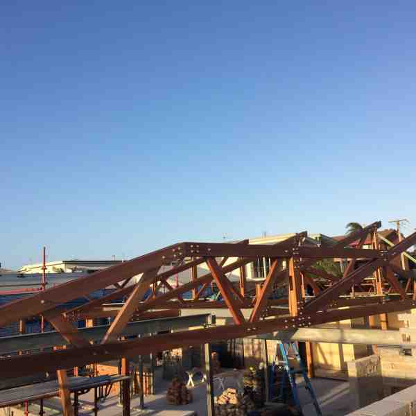 Blackbutt 15m trusses