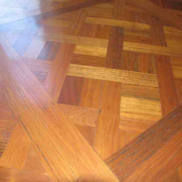 Aged Blackbutt parquetry