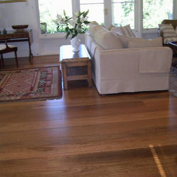 Blackbutt wide flooring