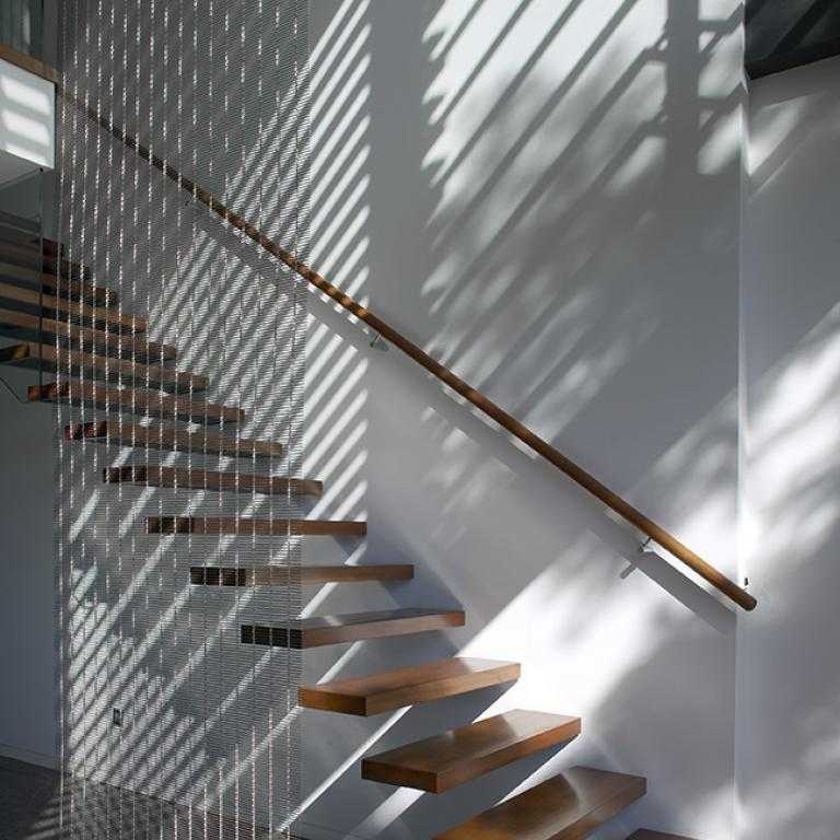 Suspended Style 32 Floating Staircase Ideas For The: Recycled Timber For Contemporary Design