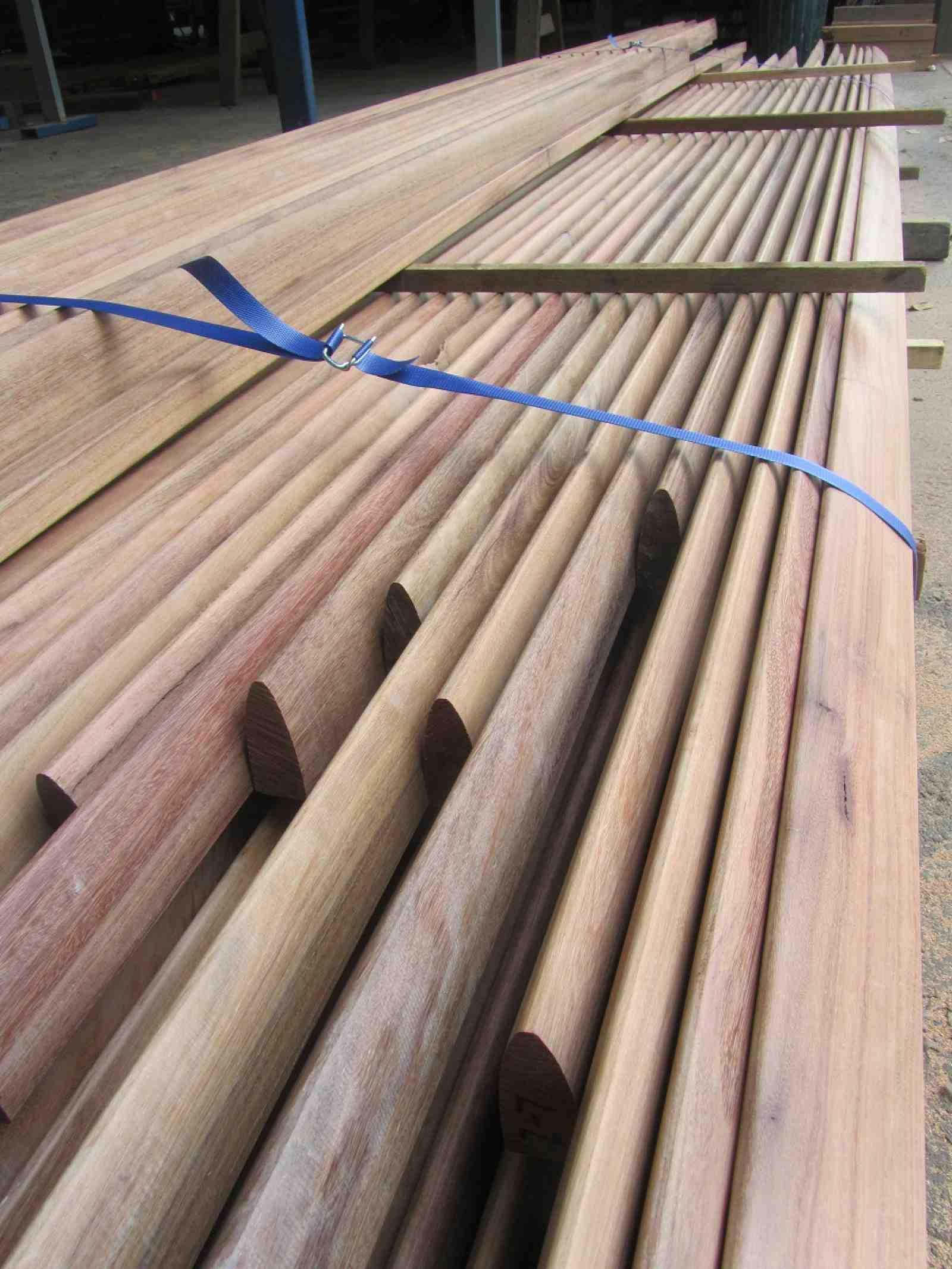 Machined Timber Australian Architectural Hardwoods