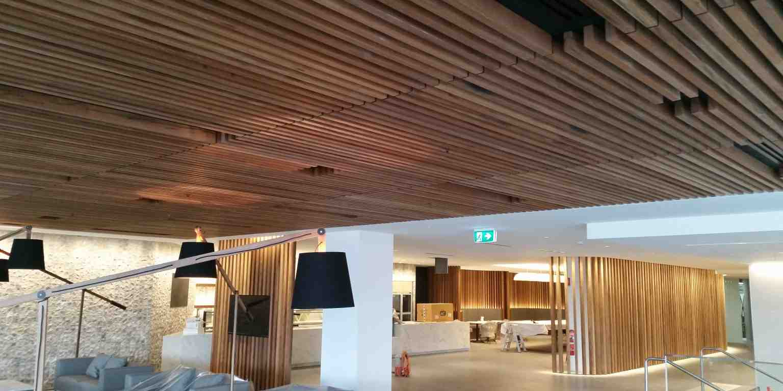 Spotted gum battens